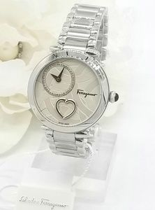 Salvatore Ferragamo 'Beating Heart' Watch NWT